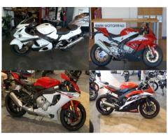 BUY ME:2014/13/15 Suzuki HAYABUSA GSX1300R, 2015 Yamaha R6 / R1 , 2015 BMW S1000RR...And many more