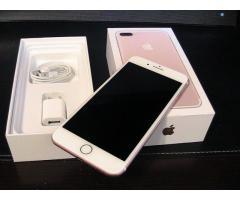 Brand new Original Apple iphone 7 Plus rose gold 256GB